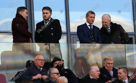 West Ham United  Chairman David Gold