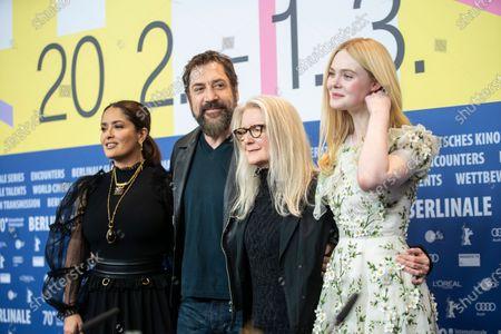 Salma Hayek, Elle Fanning, Sally Potter, Javier Bardem