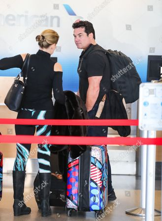 Editorial image of Dean Cain out and about at LAX International Airport, Los Angeles, USA - 26 Feb 2020