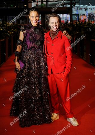 Stock Picture of Annabelle Mandeng and Nils Verkooijen.
