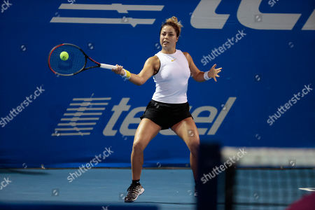 Mexican Tennis Open Tournament Day 4 Acapulco Stock Fotografie Exkluzivni Shutterstock