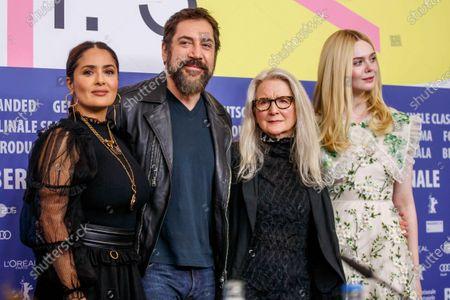 Salma Hayek, Javier Bardem, Sally Potter, Elle Fanning