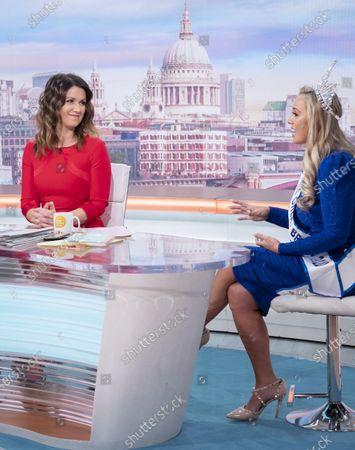 Susanna Reid with Jen Atkin