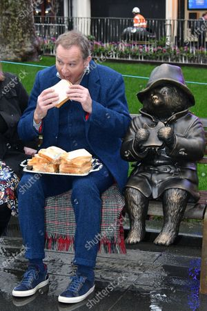 Hugh Bonneville unveils Paddington