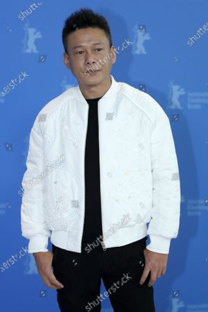 Lee Kang-Sheng poses during the Rizi (Days) photocall during the 70th annual Berlin International Film Festival (Berlinale), in Berlin, Germany, 27 February 2020. The movie is presented in the Official Competition at the Berlinale that runs from 20 February to 01 March 2020.