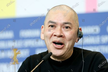 Tsai Ming-Liang attends the 'Rizi (Days)' press conference during the 70th annual Berlin International Film Festival (Berlinale), in Berlin, Germany, 27 February 2020. The movie is presented in the Official Competition at the Berlinale that runs from 20 February to 01 March 2020.