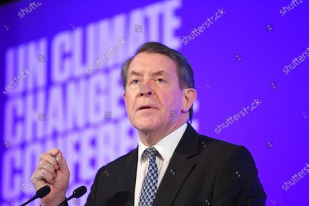 Editorial photo of Launch of COP26 Private Finance Agenda, London, United Kingdom - 27 Feb 2020