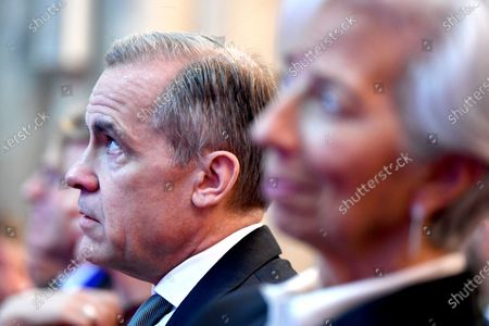 Governor of the Bank of England Mark Carney at the Launch of COP26 Private Finance Agenda event at the Guildhall in London, Britain, 27 February 2020. The 2020 United Nations Climate Change Conference, known as COP26, is scheduled to be held in Glasgow, Scotland from 9 to 19 November 2020 under the presidency of the UK government.