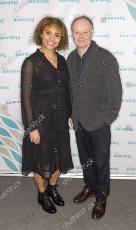Jason Watkins and Tala Gouveia