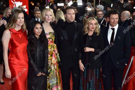 Yvonne Strahovski, Soraya Heidari, Cate Blanchett, Jai Courtney, Asher Keddie and Dominic West