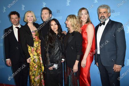 Dominic West, Cate Blanchett, Jai Courtney, Soraya Heidari, Asher Keddie and Yvonne Strahovski