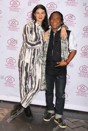 Jesse Smith and Tenzin Choegyal
