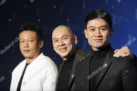 Lee Kang-sheng, Tsai Ming-liang and Anong Houngheuangsy.