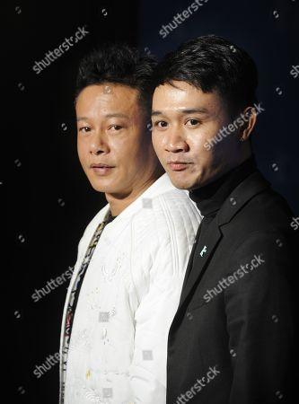 Lee Kang-sheng and Anong Houngheuangsy.