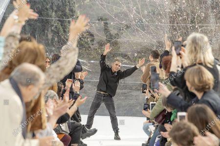 Editorial photo of Kenzo show, Runway, Fall Winter 2020, Paris Fashion Week, France - 26 Feb 2020