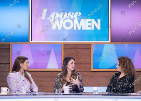 Stacey Solomon, Lacey Turner, Nadia Sawalha and Jane McDonal