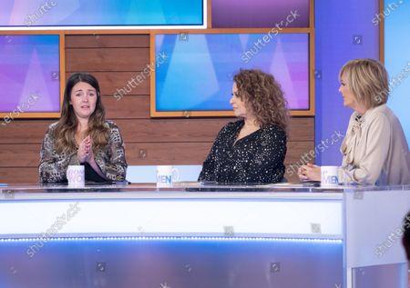 Lacey Turner, Nadia Sawalha and Jane McDonald