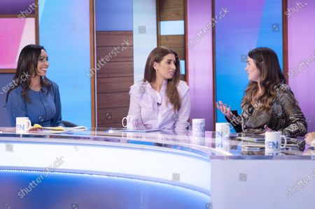 Christine Lampard, Stacey Solomon, Lacey Turner