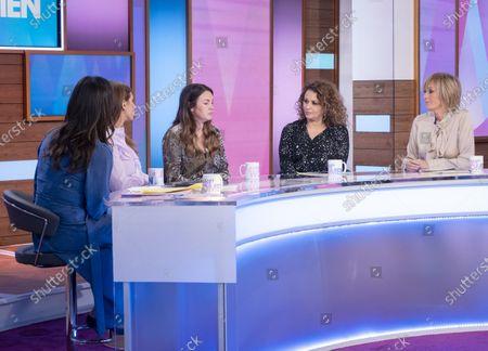 Christine Lampard, Stacey Solomon, Lacey Turner, Nadia Sawalha and Jane McDonald