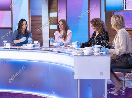 Christine Lampard, Stacey Solomon, Nadia Sawalha and Jane McDonald