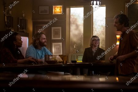 "Avis-Marie Barnes as Anita Jones, Wyatt Russell as Sean ""Dud"" Dudley, Mary Elizabeth Ellis as Daphne Benson, David Pasquesi as Blaise St John"