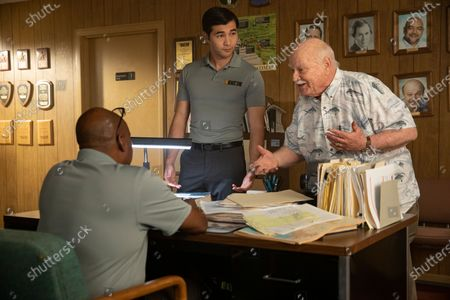Brent Jennings as Ernie Fontaine, Michael Lee Kimel as Beautiful Jeff and Brian Doyle-Murray as Bob Kruger