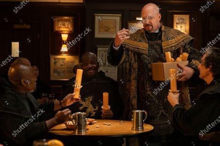 Brent Jennings as Ernie Fontaine, Njema Williams as Big Ben Peters, Eric Allan Kramer as Scott Wright and David Pasquesi as Blaise St John