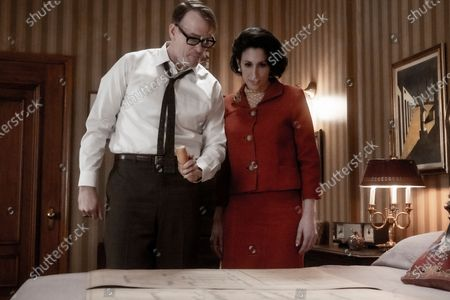 Stock Photo of Jim E. Chandler as Wallace Smith and Cara Mantella as Jackie Loomis