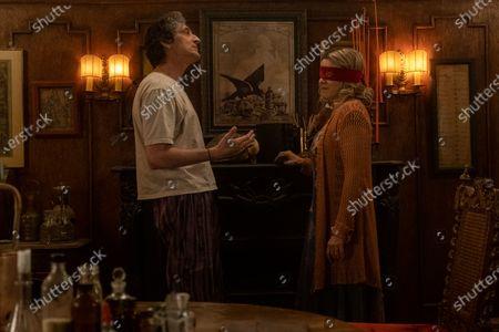 David Pasquesi as Blaise St John and Linda Emond as Connie Clark