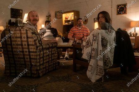 David Ury as Champ, Atkins Estimond as Gerson, Daniel Stewart Sherman as Jeremy and Sonya Cassidy as Liz Dudley