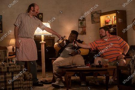 David Ury as Champ, Atkins Estimond as Gerson and Daniel Stewart Sherman as Jeremy
