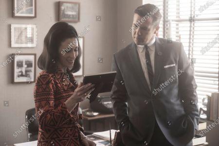 Cara Mantella as Jackie Loomis and Patrick Brammall as Werner Goss