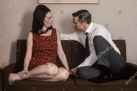 Stock Picture of Cara Mantella as Jackie Loomis and Patrick Brammall as Werner Goss