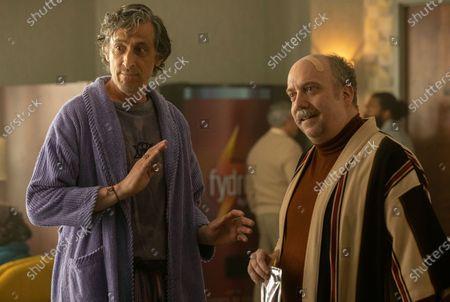 David Pasquesi as Blaise St John and Paul Giamatti as L. Marvin Metz