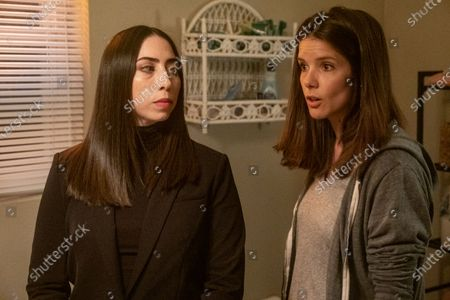Olivia Sandoval as Janet Price and Sonya Cassidy as Liz Dudley