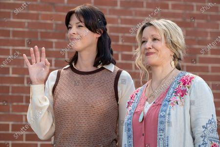 Pollyanna McIntosh as Melinda/Clara and Linda Emond as Connie Clark