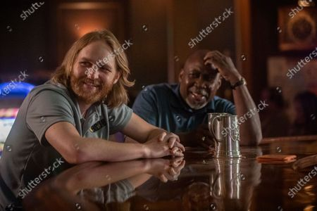 """Wyatt Russell as Sean """"Dud"""" Dudley and Brent Jennings as Ernie Fontaine"""