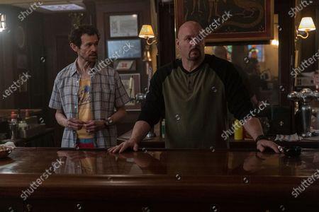 Adam Godley as Jocleyn Pugh and Eric Allan Kramer as Scott Wright