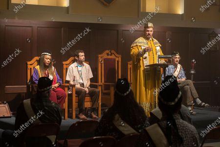 Avis-Marie Barnes as Anita Jones, Adam Godley as Jocelyn Pugh, Eric Allan Kramer as Scott Wright and David Pasquesi as Blaise St John