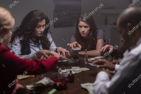 Bertila Damas as Lenore and Sonya Cassidy as Liz Dudley
