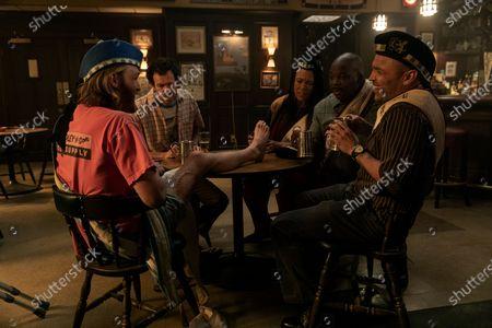 "Wyatt Russell as Sean ""Dud"" Dudley, Adam Godley as Jocelyn Pugh, Avis-Marie Barnes as Anita Jones, Njema Williams as Big Ben Peters and Jimmy Gonzales as Gil Sandoval"