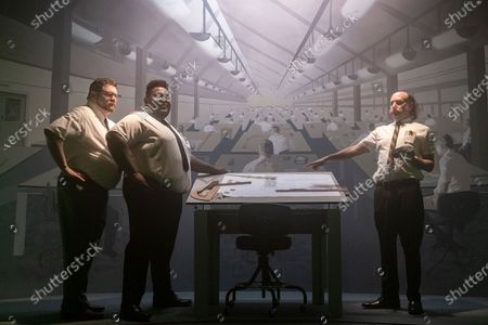 Dave Stewart Sherman as Jeremy, Atkins Estimond as Gerson and David Ury as Champ