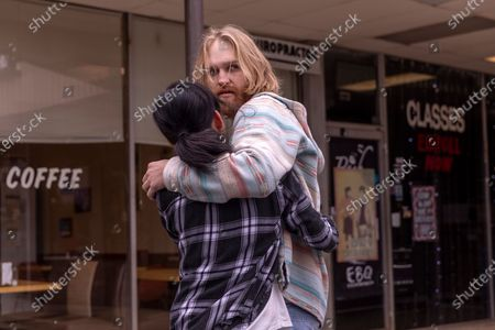 "Celia Au as Alice Ba and Wyatt Russell as Sean ""Dud"" Dudley"