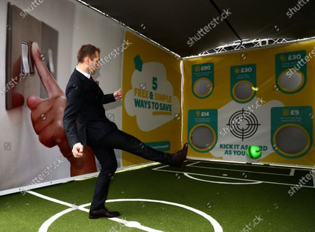 Stock Picture of Stiliyan Petrov at Utilita Activation prior to the game