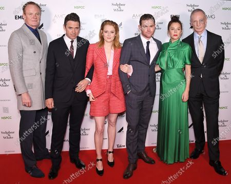 Stock Picture of Alistair Petrie, Dougray Scott, Emily Beecham, Mark Stanley, Anna Friel and David Tait
