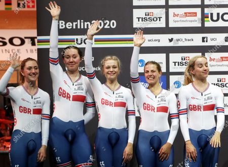 Editorial photo of UCI Track Cycling World Championships 2020, Berlin, Germany - 27 Feb 2020