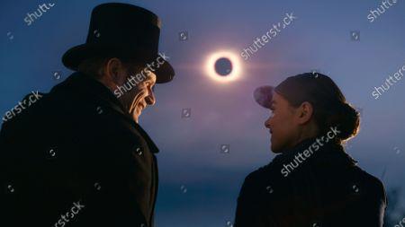 Matt Lauria as Ben Newton and Hailee Steinfeld as Emily Dickinson