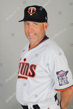 This is a 2020 photo of Wes Johnson of the Minnesota Twins baseball team. This image reflects the Twins 2020 active roster as of, when this image was taken