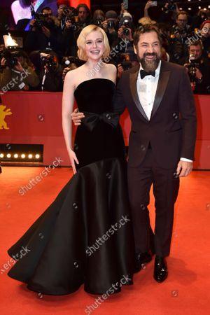 Elle Fanning and Javier Bardem
