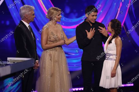 Phillip Schofield, Holly Willoughby, Ben Hanlin and Carlotta Edwards